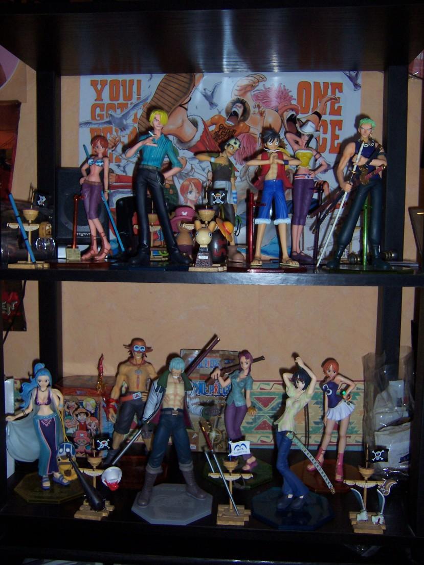 collection des figurine one piece p.o.p